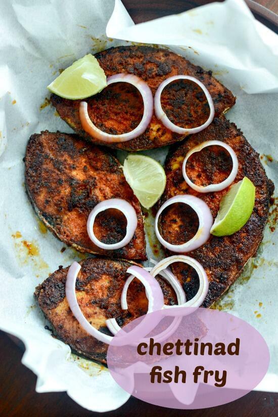 chettinad fish fry meen varuval recipe