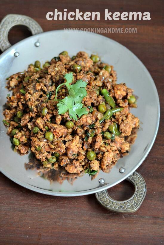 Chicken keema recipe, how to make chicken keema step by ...