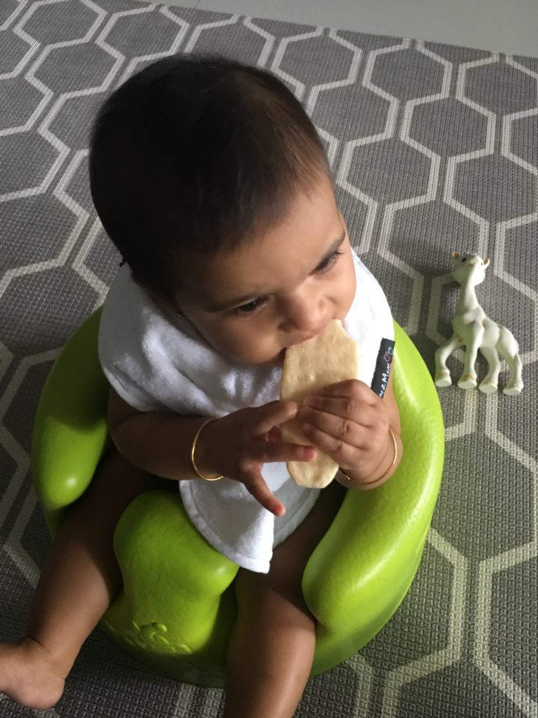 Indian baby meal plan, food chart for 6-8 months