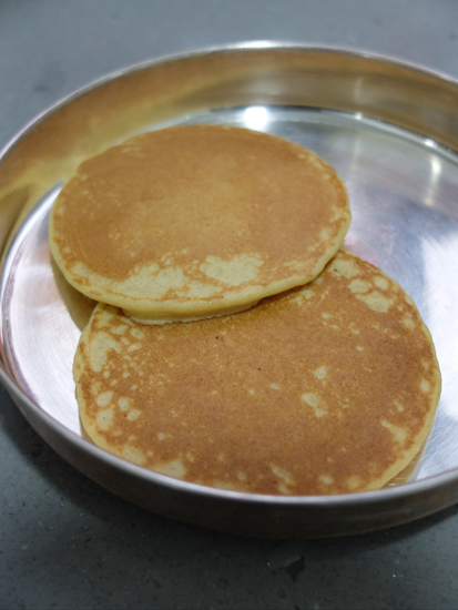 Millet Flour Pancakes Recipe Step by Step