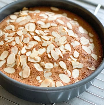 gluten free almond coconut lime cake