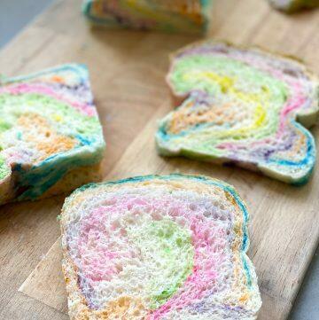 rainbow swirl bread recipe